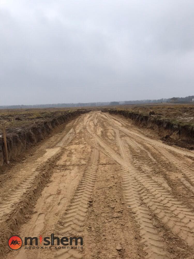 Отсыпка дорог песком